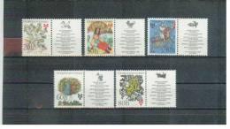 TSCHECHOSLOWAKEI / CSSR , Czechoslovakia , 1975 , ** ,  MNH , Postfrisch , Mi.Nr. 2267 - 2271 + Zf - Unused Stamps
