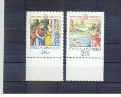 TSCHECHOSLOWAKEI / CSSR , Czechoslovakia , 1974 , ** ,  MNH , Postfrisch , Mi.Nr. 2214 - 2215 - Tchécoslovaquie