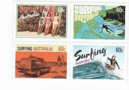 Australia 2013 Surfing Australia Set MNH - Ungebraucht