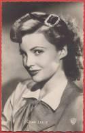 Joan LESLIE -  Pub Korès. Vintage Postcard . - Schauspieler