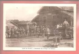 Camp De Mailly  Distribution  De La Soupe - Guerre 1914-18