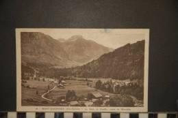 CPSM- MONT-SAXONNEX - LE BETE,LA GOUILLE,ROUTE DE MORSULAZ - 34   VOYAGEE 1946 - Unclassified