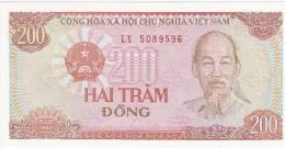 Vietnam 200 Dong 1987 Uncirculated - Vietnam