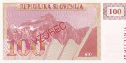 Slovenia 100 Tolarjev 1990 Uncirculated - Slovénie