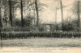 BEAUMONT ECOLE MOYENNE POUR JEUNES FILLES L'ESPLANADE - Beaumont