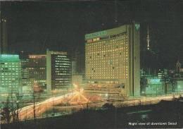 Korea - Seoul - Plaza Hotel - Stamp - Korea (Süd)