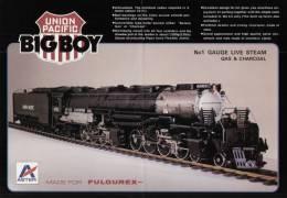 Catalogue ASTER FULGUREX ´80 Gauge 1 1:32 - BIG BOY Live Steam                           EN - Livres Et Magazines