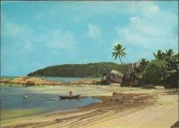 Seychellen - Praslin - Fisherman - Nice Stamp - Seychellen