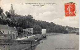 53 Chateau Gontier, Eglise Saint Jean Et Le Jardin Anglais - Chateau Gontier