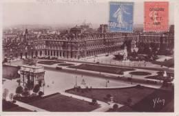 """Cp 478 """" Paris En Flânant  Timbre Du Congrès BIT 10/05/1930  """" - France"""