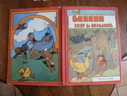 1978     GEDEON CHEF Des BRIGANDS   Illustrations De Benjamin Rabier - Autres Auteurs
