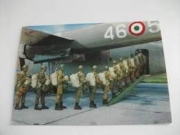 Militari Aereo Militare Paracadutisti - Paracadutismo