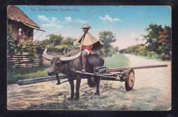 RP-11 PHILIPPINES THE OLD FASHIONED CARABAO CART - Philippines