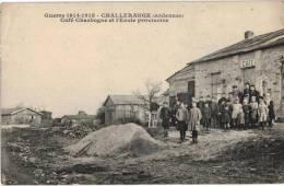 Carte Postale Ancienne De CHALLERANGE - Francia
