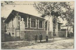 PAULHAN (HERAULT - 34) - CPA - ECOLE DES GARCONS - Paulhan