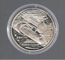 GIBRALTAR -  2,8 Ecus  1993  KM478 EUROTUNEL - Gibilterra