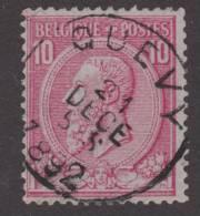 46   QUEVY  21 Dece 1892. Coba+8 - 1884-1891 Léopold II