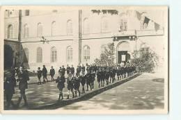 Villefranche Sur Saône, COLLEGE DE MONGRE : Processsion Jésuite. Cadets De Mongré. CARTE PHOTO - Villefranche-sur-Saone