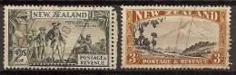 NUEVA ZELANDA 1935 - Yvert #205/06 - VFU - Nuevos