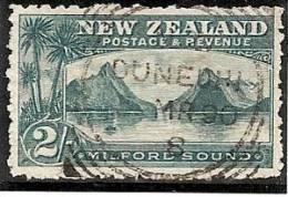 NUEVA ZELANDA 1900/09 - Yvert #110 - VFU - Usados