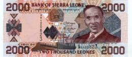 SIERRA LEONE 2000 2,000 LEONES 2006 P 26 UNC - Sierra Leone