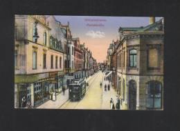 AK  Wilhemshaven Marktstrasse 1916 - Wilhelmshaven