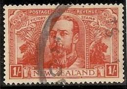 NUEVA ZELANDA 1919 - Yvert #174 - VFU - 1907-1947 Dominion
