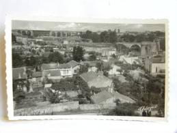 CPSM (79) Deux Sèvres - PARTHENAY - Vue Générale Sur Le Viaduc - Parthenay