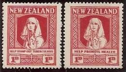 NUEVA ZELANDA 1930 - Yvert #186/87 - MLH * - Nuevos