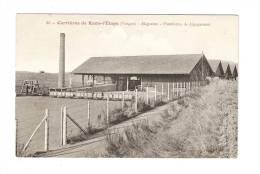 CPA :- 88 - Vosges : Raon L´Etape : Carrières De Raon : Magasins - Plateforme De Dégagement - Peu Commune - Raon L'Etape