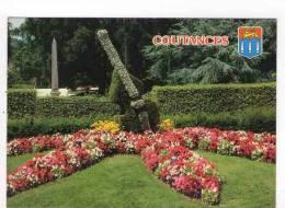 CPM 10*15/Y592/COUTANCES JARDIN PUBLIC BLAOSN - Coutances