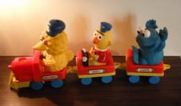 Petit Train 1 Rue Sésame : Big Bird, Bert Et Cookie Monster - Other
