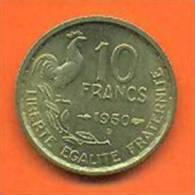 Monnaie De 10 Francs Guiraud 1950 B Qualite SUP + SPL - K. 10 Franchi