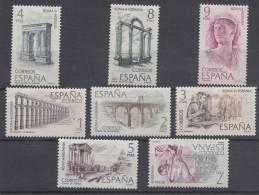 ESPAÑA 1974.ROMA-HISPANIA.EDIFIL 2184/2191 NUEVA SIN CHARNELA. SES169 - 1931-Hoy: 2ª República - ... Juan Carlos I