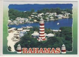 "BAHAMAS - Hope Town - Nice Stamp - Abaco - The Famous ""candi-stripe"" Lighthouse Ca 1990 - Bahamas"