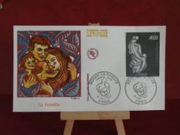 FDC - Boyan La Famille - Paris - 18.9.1982 - 1er Jour - édit J.F - 1980-1989