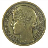 Monnaies France Morlon 1933, 2 Francs Bronze Aluminium 8g, 27mm Tranche Lise - Francia