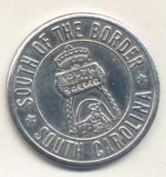 SOUTH  OF THE BORDER - SOUTH CAROLINA GOOD LUCK SOUVENIR JETON U.S.A. - Professionals/Firms