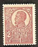 ROMANIA 1920 FERDINAND 2 LEI SC # 258 MNH - 1918-1948 Ferdinand, Carol II. & Mihai I.