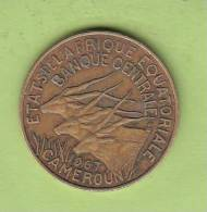 Pièce - Cameroun - Etat De L´Afrique Equatoriale - 10 Francs - 1967 - Cameroun