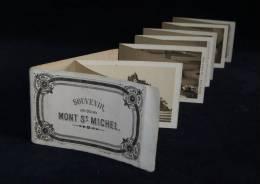Album Original LE MONT SAINT-MICHEL 12 Vues Lithographiques A. TURGOT 1870/1880 - Lieux