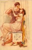 MAUZAN - Couple D' Amoureux - Femme Sein Nu   (54489) - Mauzan, L.A.