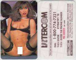 UNITED STATES USA NAKED GIRL EROTIC INTERCOM PRE TEST CARD PRE EDITION OF 1000 - Vereinigte Staaten