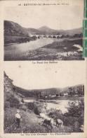 CPA  43 - RETOURNAC  2 VUES - Le  Pont Des Sables . La Vie Aux Champs - Le  Chambonnet - Retournac