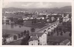 CPA  PHOTO 43 - RETOURNAC  -  Pont Sur La Loire Et Vue Générale - Retournac
