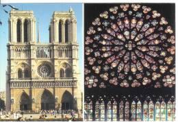 PARIS - Cathédrale Notre-Dame - Rosace Sud - Notre Dame De Paris