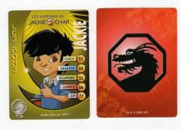 UNE IMAGE DES AVENTURES DE JACKIE CHAN JACKIE JACKIE CHAN EN 1977  TM 2003 AP1 - Trading Cards