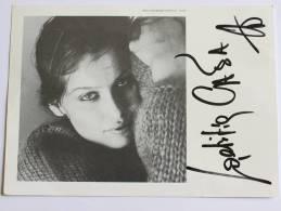 Laetitia CASTA  - Signé / Dédicace / Autographe Authentique - Artiesten