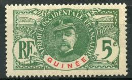 Guinée (1906) N 36* (o)