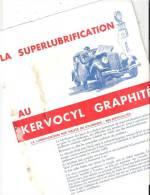 """""""KERVOCYL"""" Superlubrifiant Kervoline Années 30 4 Pages R/V Format A4 - Reclame"""